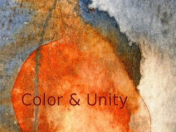 Art Lesson Powerpoint based on Color & Unity (2 different projects)