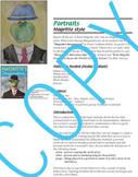 Art Lesson  - Rene Margaritte Portraits (common core content) elementary art