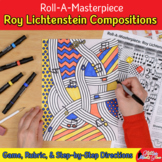 Art Lesson: Roy Lichtenstein Art History Game and Art Sub