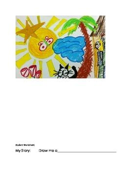 Art Lesson- Shape- Draw me a (lesson 7) Grade 1