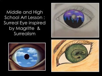 Art Lesson-Surreal Eye