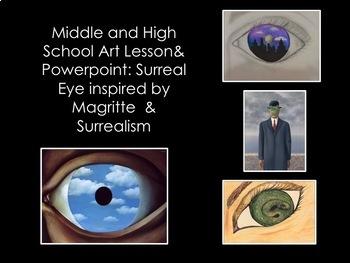 Art Lesson-3 Surreal Art Lessons