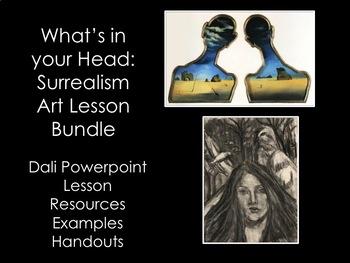 High School Art Lesson- Surrealism Bundle