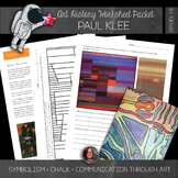 Paul Klee Worksheet Packet and Abstract Art Lesson - Paul Klee Coloring Sheets
