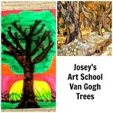 Art Lesson Teach Van Gogh to Grades K-6 Trees Art History