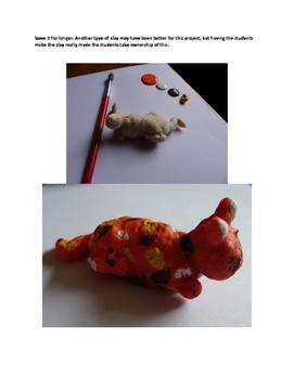 Art Lesson- Texture- Animal Texture- Clay (Lesson 14) Grade 3