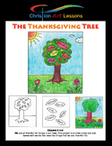 Art Lesson: Thanksgiving Tree Grades K-3rd