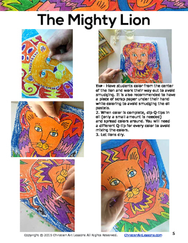 Art Lesson: The Mighty Lion
