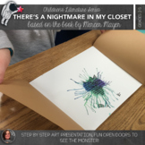 Fall Art Lesson: There's a Nightmare in My Closet, by Merc