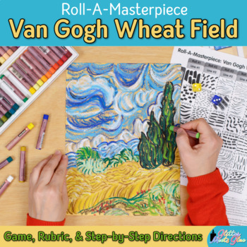 Art Lesson: Van Gogh Wheat Field Art History Game {Art Sub Plans for Teachers}