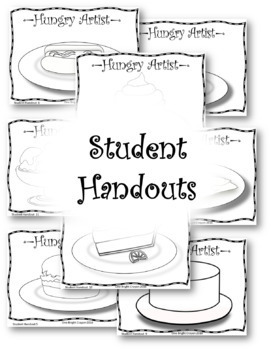 Art Lesson - Wayne Thiebaud - The Hungry Artist - Extra Sub Pages