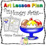 Art Lesson and Activities about Artist Wayne Thiebaud