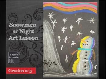 Art Lesson based on Children's Literature - 3 Seasons - Fall, Winter & Spring