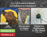 Art Lesson based on Children's Literature - 3 Seasons - Fa