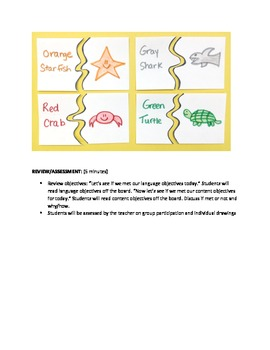 Art Lesson for Elementary ESL Students!