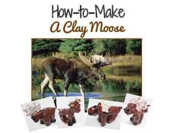 Art Lesson for Kids: Clay Moose Sculpture