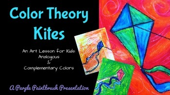 Art Lesson for Kids: Color Theory Kites: Analogous & Compl