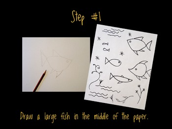 Art Lesson for Kids: Golden Fish Art Activity Inspired by Paul Klee