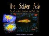 Art Lesson for Kids: Golden Fish Art Activity Inspired by