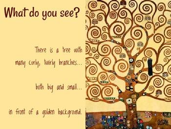Art Lesson for Kids: Gustav's Magical Trees, Inspired by Gustav Klimt