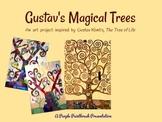 Art Lesson for Kids: Gustav's Magical Trees, Inspired by G