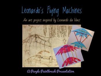 Art Lesson for Kids: Paper Flying Machines Inspired by Leonardo da Vinci
