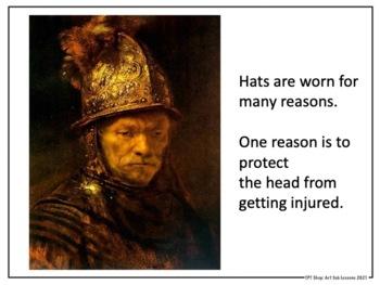 Art Sub Lesson - Wacky Hats