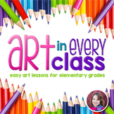Art Lessons for Elementary Grades Bundle