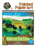 Art History Lessons: Grant Wood Down on the Farm and Fall