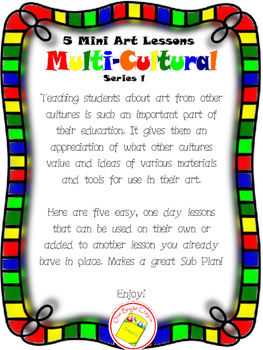 Art Lessons of Multi-Cultural Artists