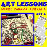 Art Lessons: Mexico, Panama, Australia