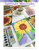 Art Lessons: Sunflower Watercolor