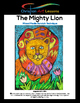 Art Lessons: The Mighty Lion - Mixed Media Scratch Technique