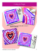 Art Lessons: Valentine's Day Queen of Hearts- Directed Drawing, Mixed Media