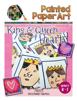 Art Lessons: Valentine's Day Queen of Hearts- Directed Dra