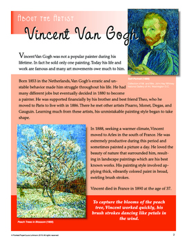 Art Lessons: Vincent Van Gogh's Flowering Trees