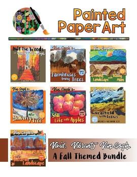 Art Lessons: Vivid, Vibrant Van Gogh  A Fall Themed Bundle