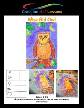 Art Lessons: Wise Old Owl