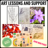 Distance learning. Art Lessons and Support - Nature and Na