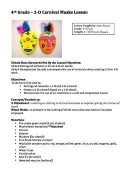 Art Lessons for 4th Grade - Four Lesson Plan Bundle!