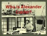 Art Lessons for Kids: Alexander Calder - Powerpoint Presentation