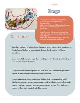 Art Lessons for the First Grade Teacher