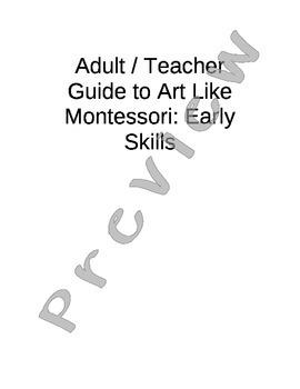 Art Like Montessori 1: Early Skills
