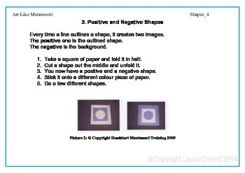 Art Like Montessori 3: Shapes
