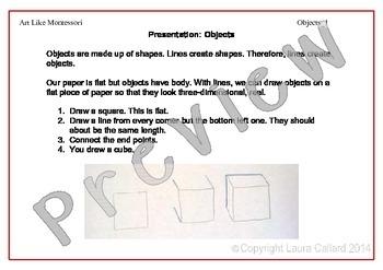 Art Like Montessori 5: Objects