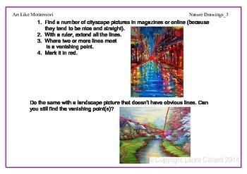 Art Like Montessori 7: Nature Drawings