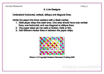 Art Like Montessori 2: Lines