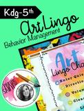 Art Lingo: Behavior System
