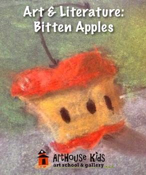 Art & Literature: Chalk Pastel Bitten Apples | Secrets of the Apple Tree