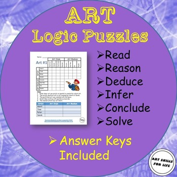 Logic Puzzles - Ten Art Themes
